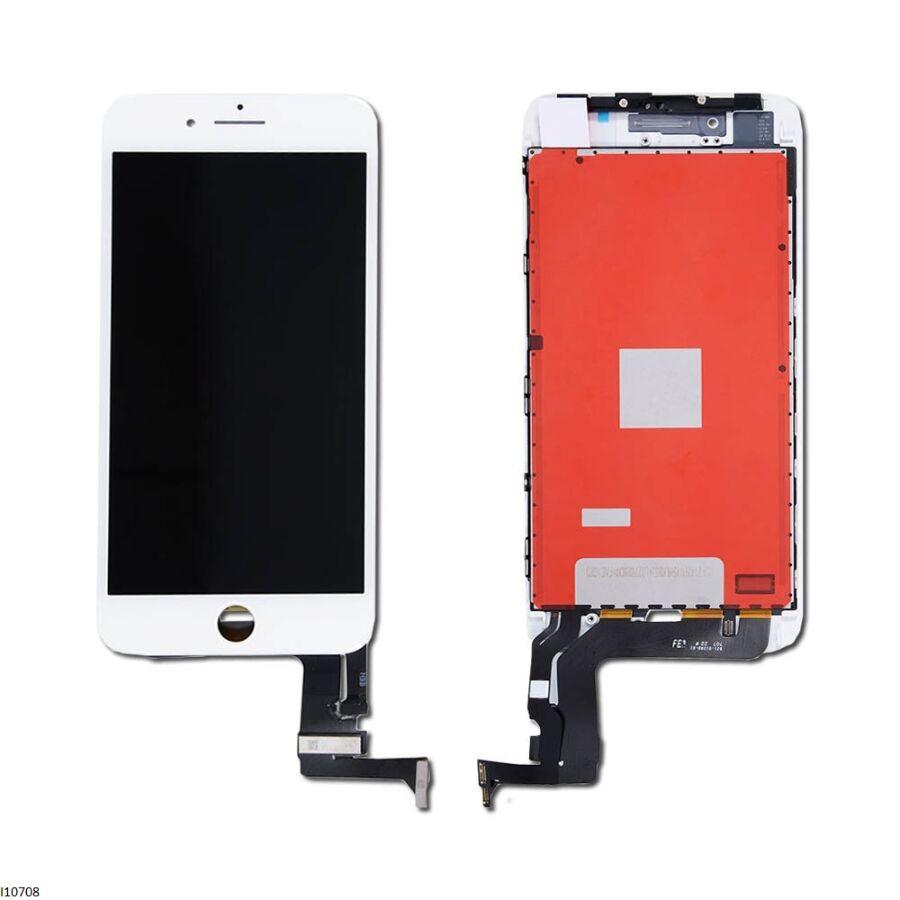 Дисплейный модуль iPhone 8 Plus LCD+touchscreen white high copy (TEST)