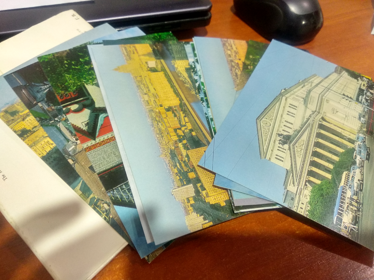 набор открыток советских времен нового решения максимальное