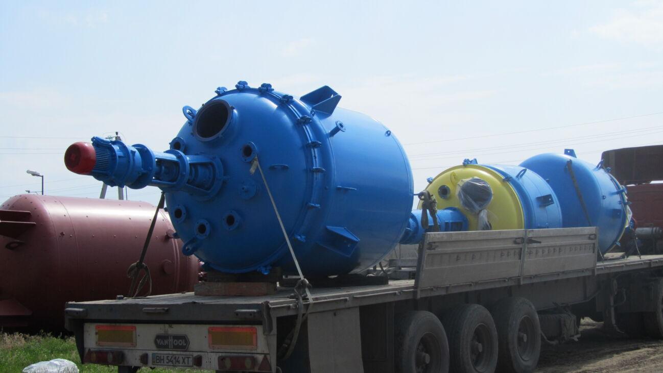Реактор эмалированный , Реактор из нержавеющей стали, Емкости нерж.50м