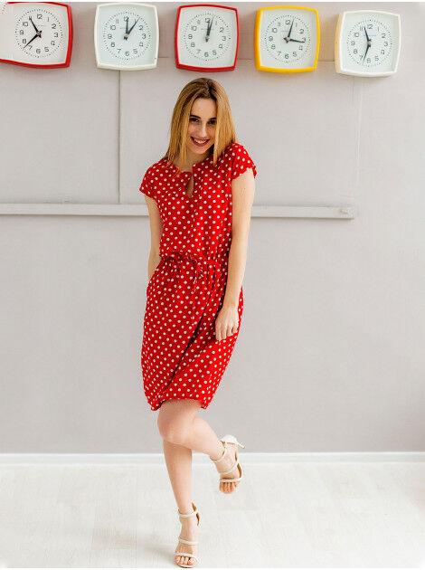 Плаття, сукня, сарафан на кулісці з V-подібним вирізом