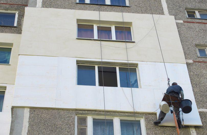 Утепление домов. Фасадные работы