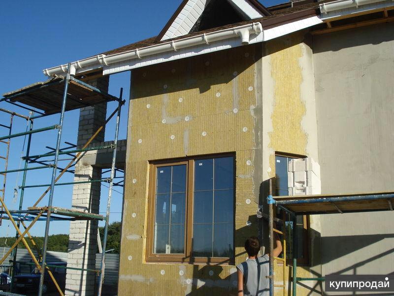 Отделочные и фасадные работы