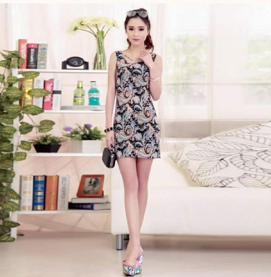 Лёгкое мини-платье