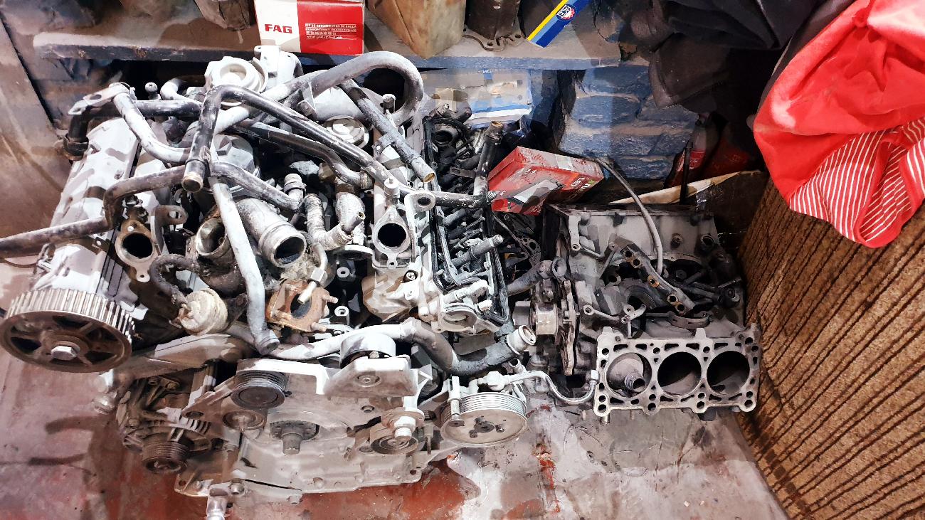 2.5 тди ake afb  двигатель