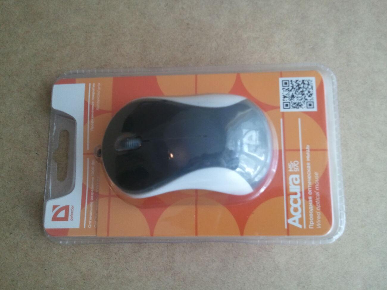 Мышка Defender Accura MS-970 USB, мышь, миша