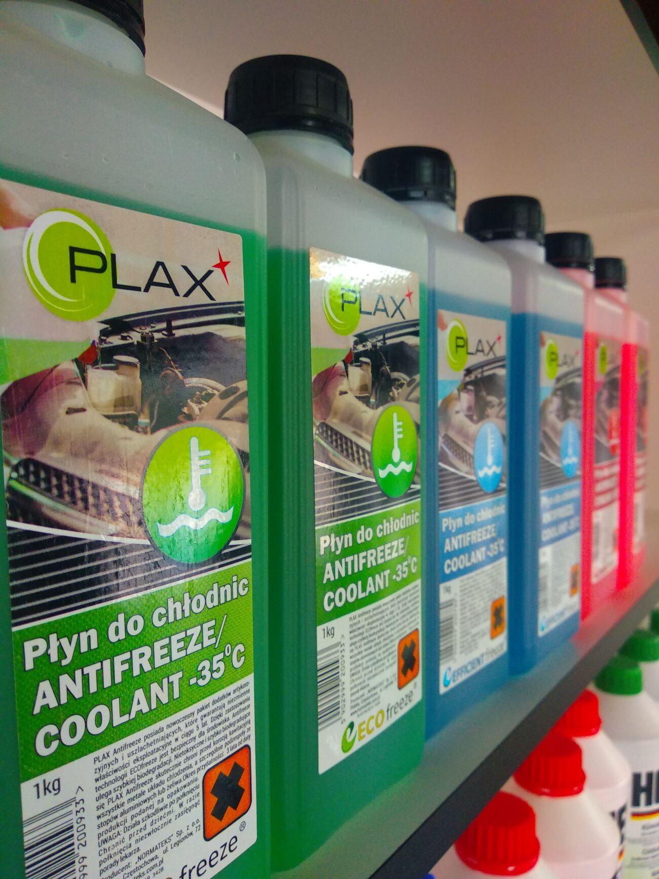 Антифриз PLAX 1л