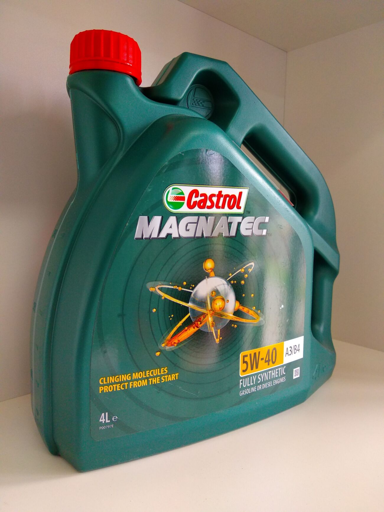 Масло Castrol Magnetec 5w40 4л