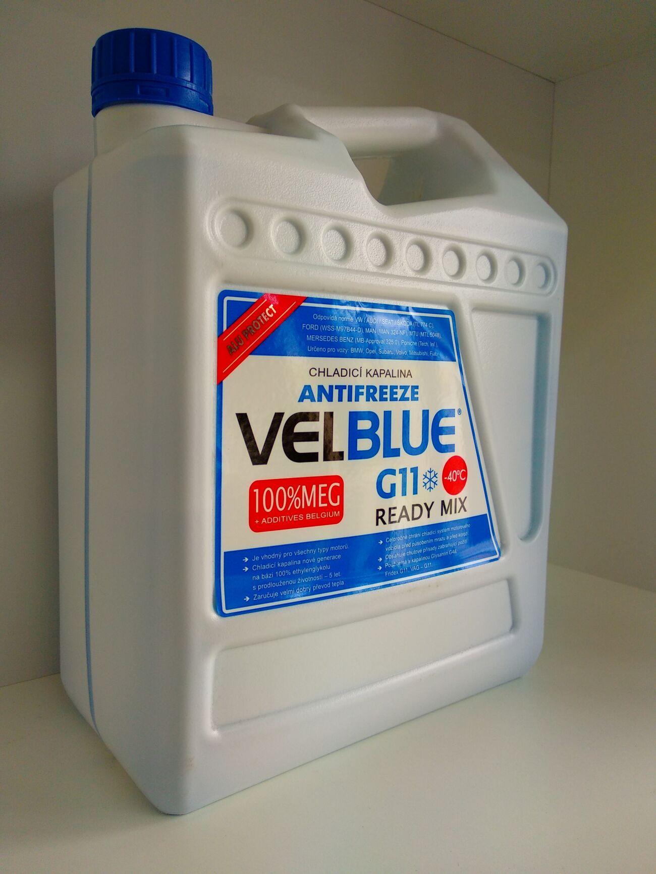 Антифриз VelBlue 5л