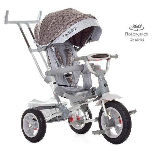 Детский велосипед-коляска с поворотным сиденьем M 4058 HA-23S