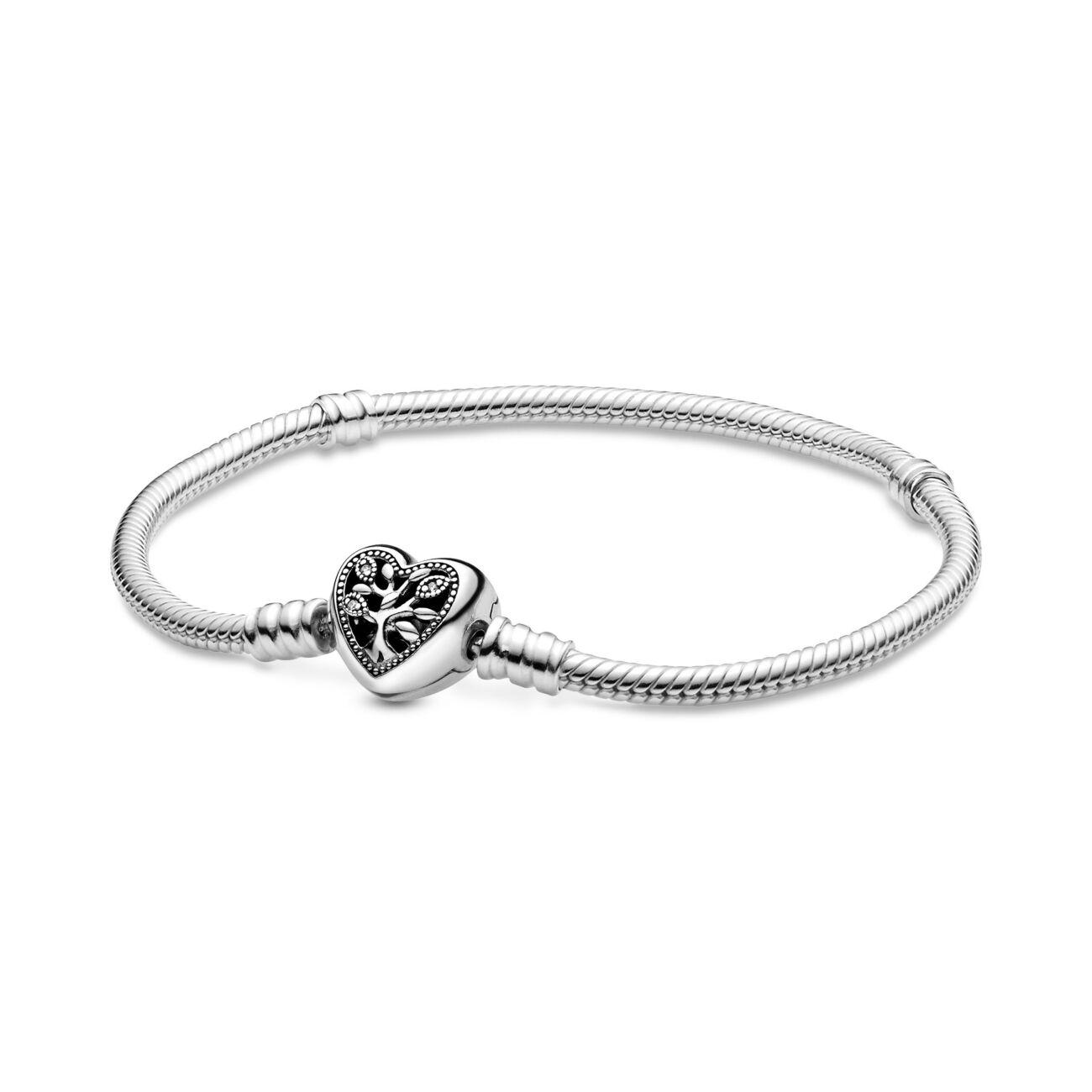 Серебняный браслет Пандора – семейное дерево #598827c01 оригинал