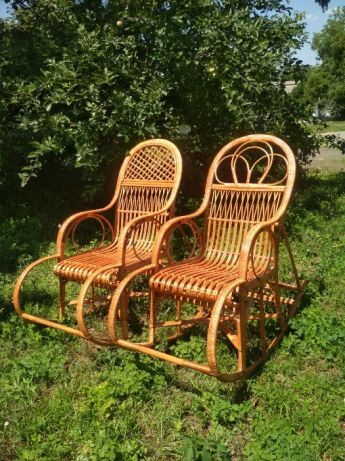 Кресло качалка лозовое (крісло качалка лоза)