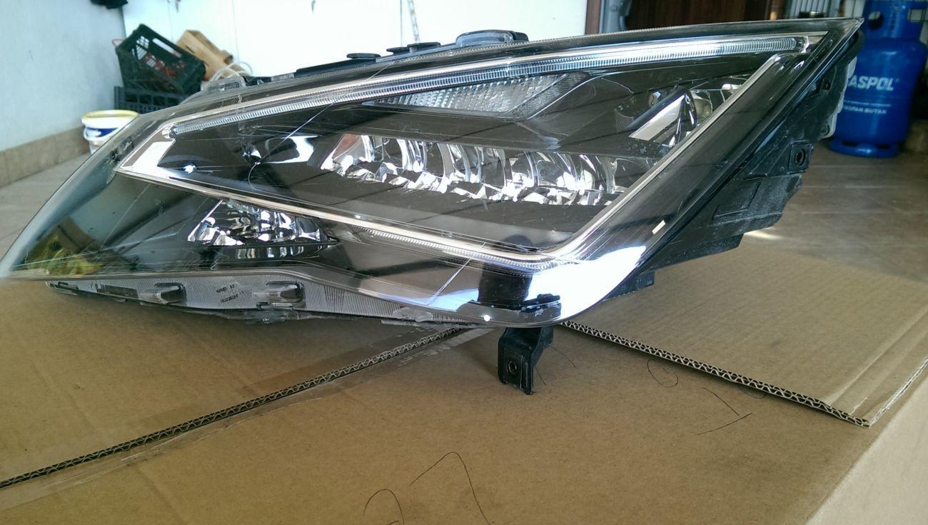 Фара левый полный светодиод / светодиод / led seat leon 5f