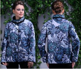 Фото 6 - куртка женская на лёгком синтепоне большие размеры