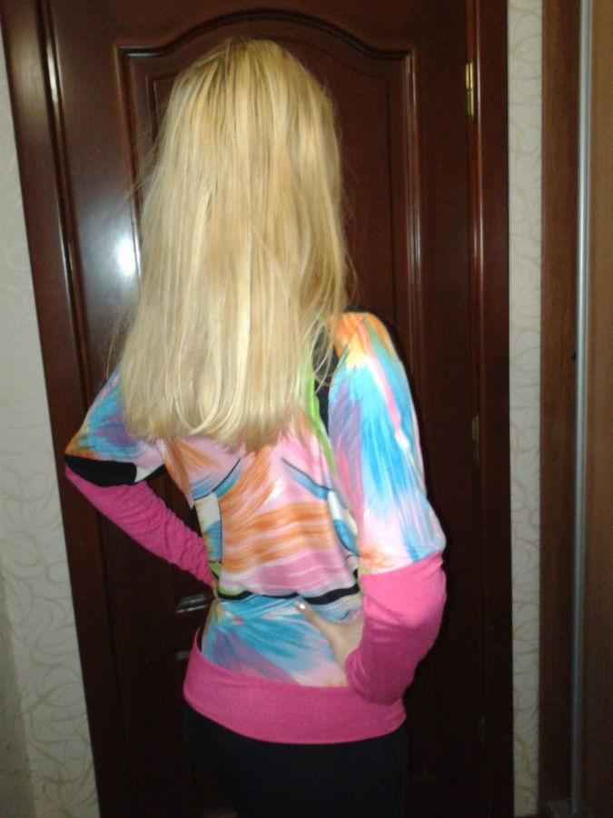 Фото 3 - Яркая блуза интересного фасона