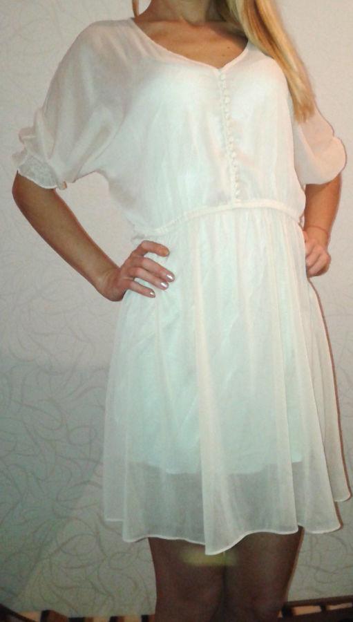 1f7147d11f8 Фирменная романтичная накидка - платье Papaya  95 грн. - Платья ...