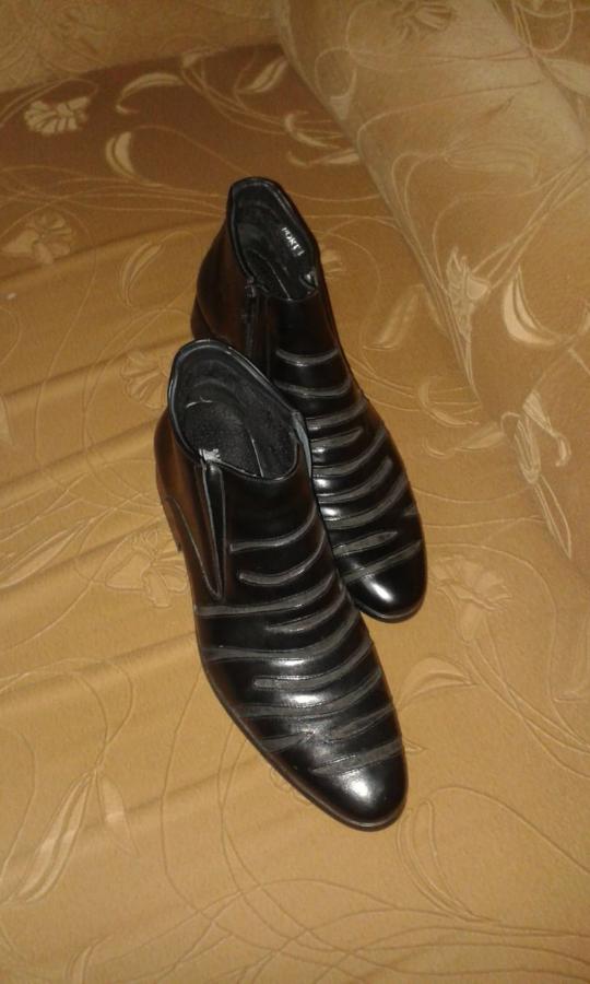 Новые!Мужские ботинки
