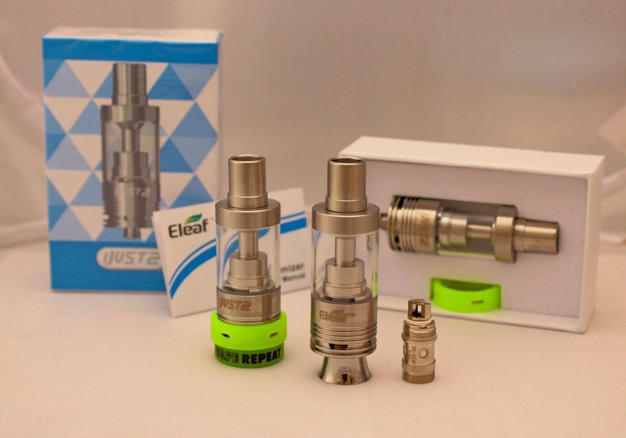 Фото 2 - Сабомный, обслуживаемый клиромайзер ijust 2 для ел. сигарет,  5,5ml