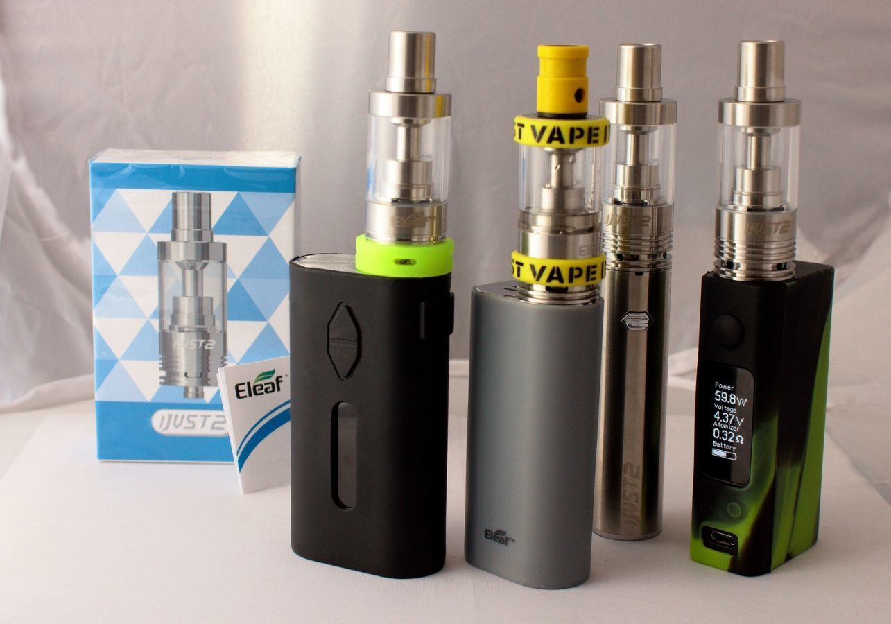 Фото 3 - Сабомный, обслуживаемый клиромайзер ijust 2 для ел. сигарет,  5,5ml