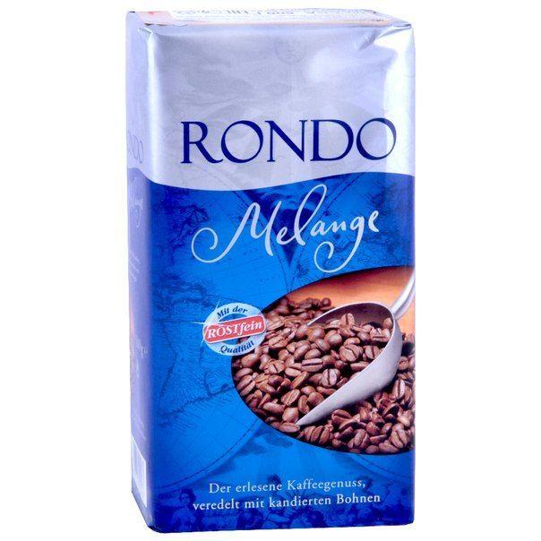 Кофе молотый  Rondo Melange – 0,5 кг.