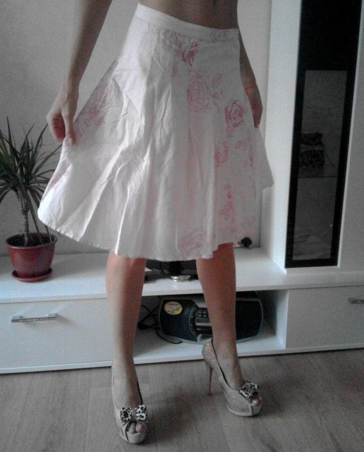 Фото 4 - Романтичная юбка