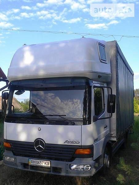 Фото 2 - Грузоперевозки Mercedes Atego до 5т, обьем 33 куб.м