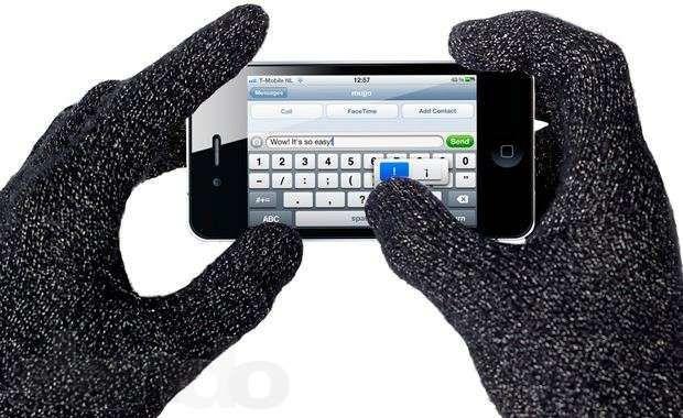 Фото - Сенсорные перчатки для iPad/iPhone Планшета
