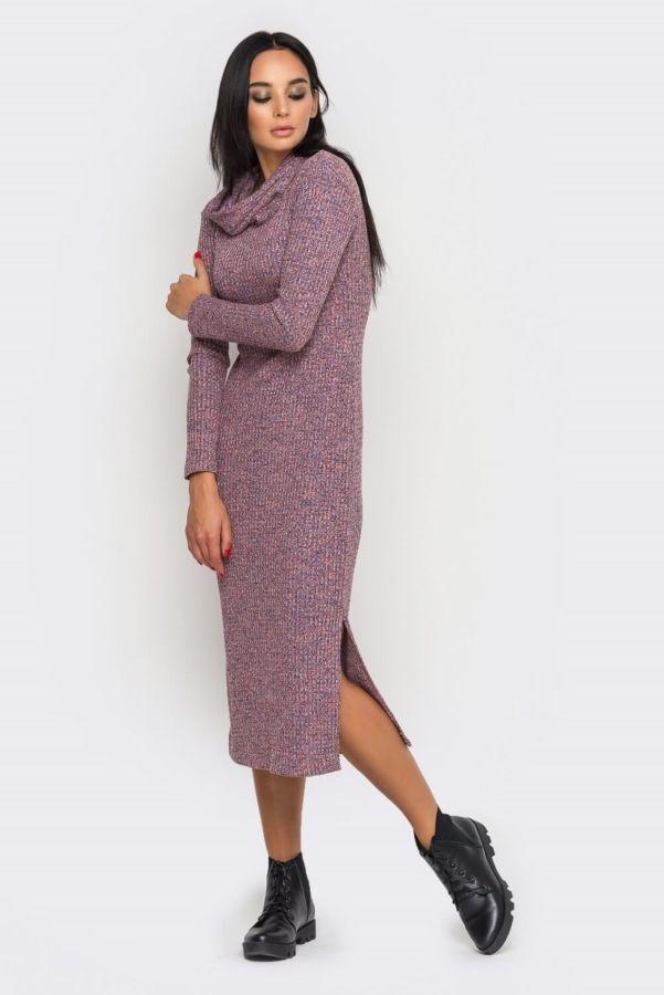 Теплое вязаное платье в интернет магазине Moda Style  820 грн ... 3b26139dac1