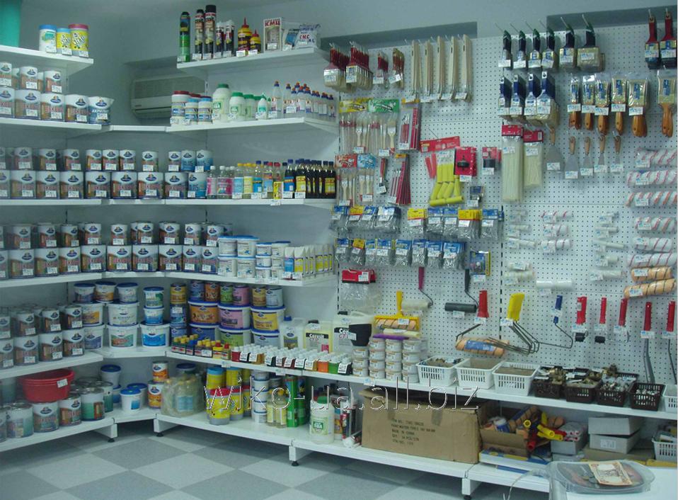 Фото - Торговые стеллажи для продуктовых и не продуктовых магазинов