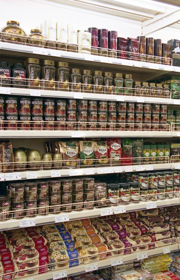 Фото 2 - Торговые стеллажи для продуктовых и не продуктовых магазинов