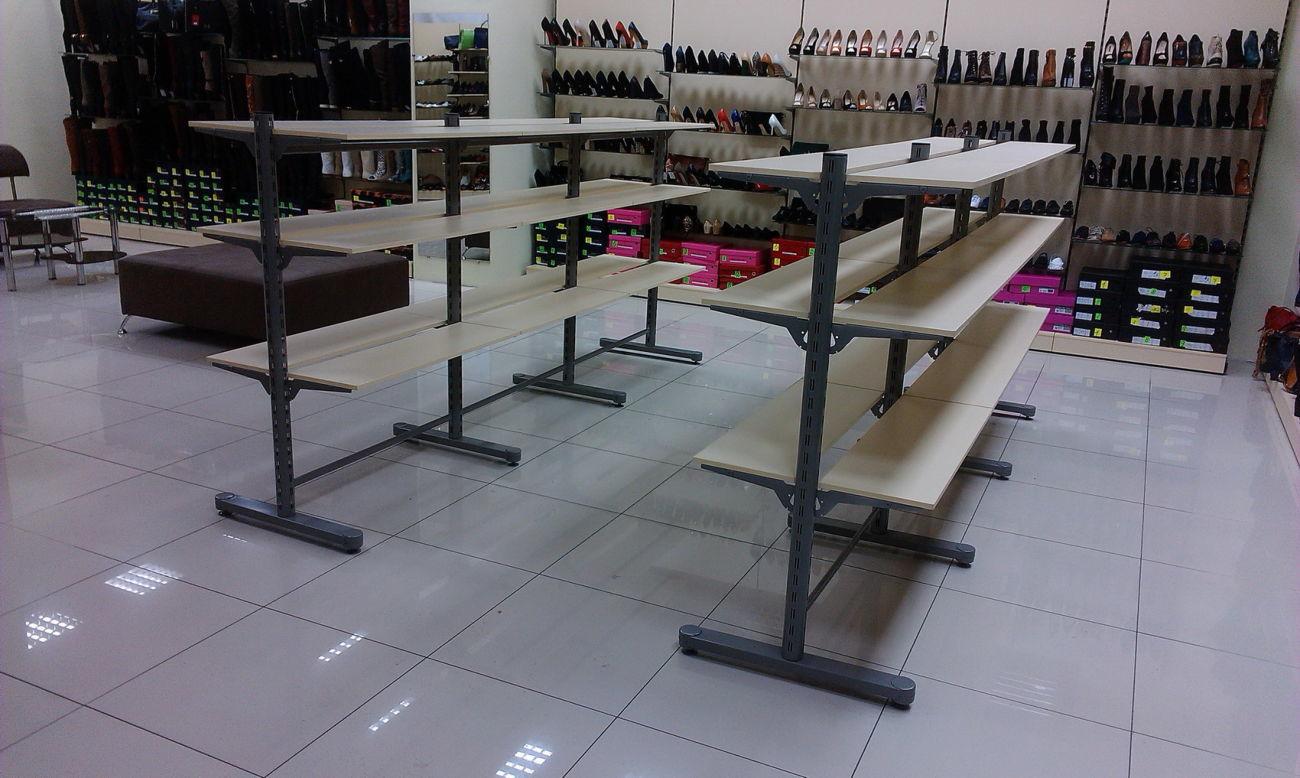 Фото 5 - Торговые стеллажи для продуктовых и не продуктовых магазинов