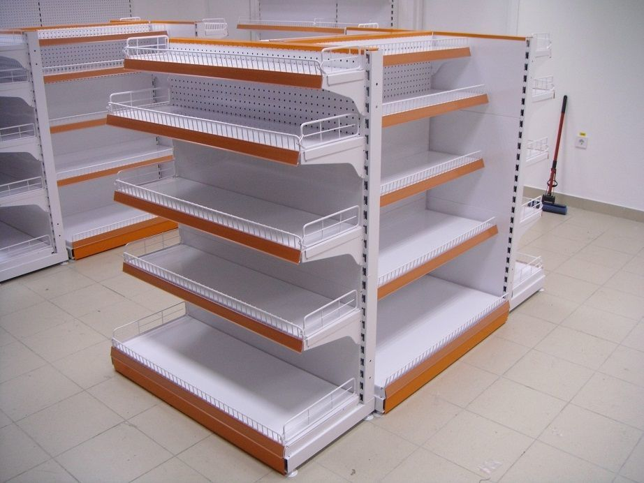 Фото 10 - Торговые стеллажи для продуктовых и не продуктовых магазинов
