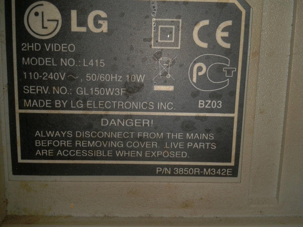 Фото 3 - Видеомагнитофон LG L415
