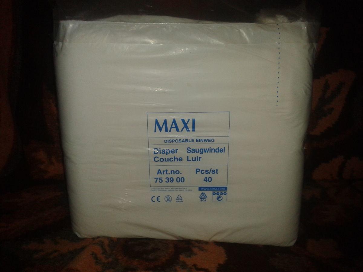Фото 3 - Прокладки для взрослых Maxi 40 шт.