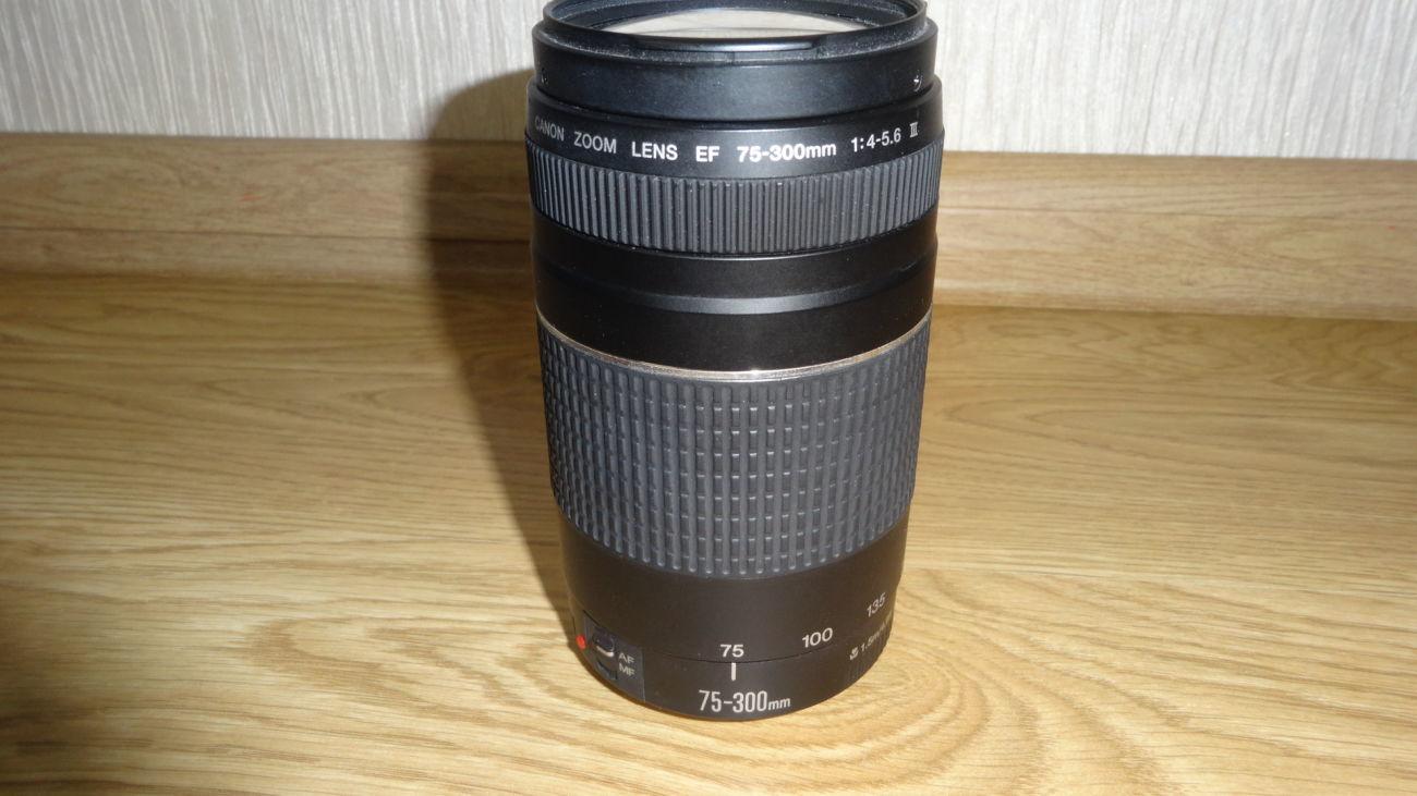Фото - Canon EF 75-300mm f/4-5.6 iii