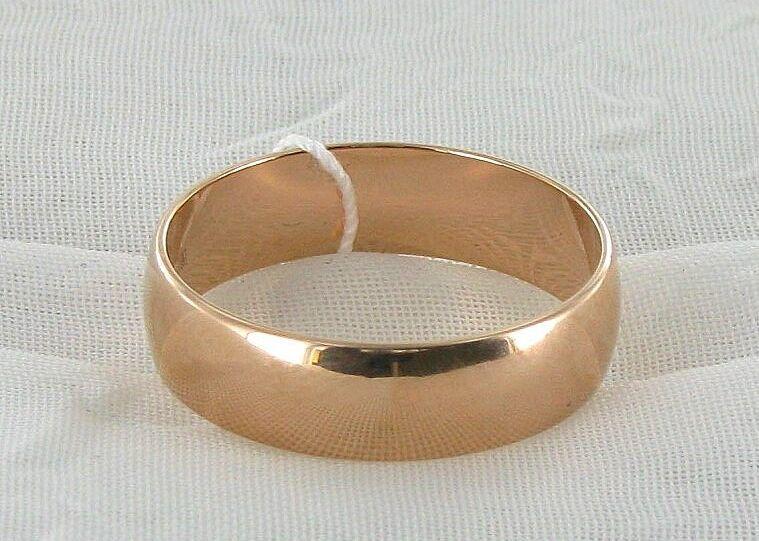Фото 2 - Золотые обручальные кольца 585 пробы! (6 мм.)