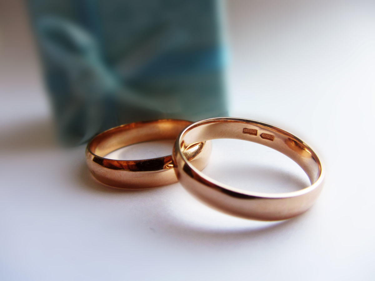 Фото - Обручальные кольца 585 пробы (5 мм)