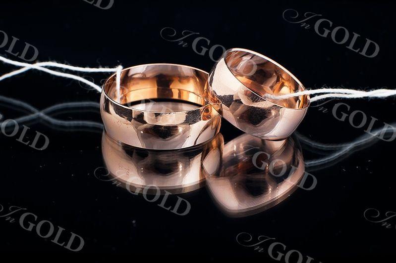 Фото - Обручальные кольца 585 пробы (6,6 мм)