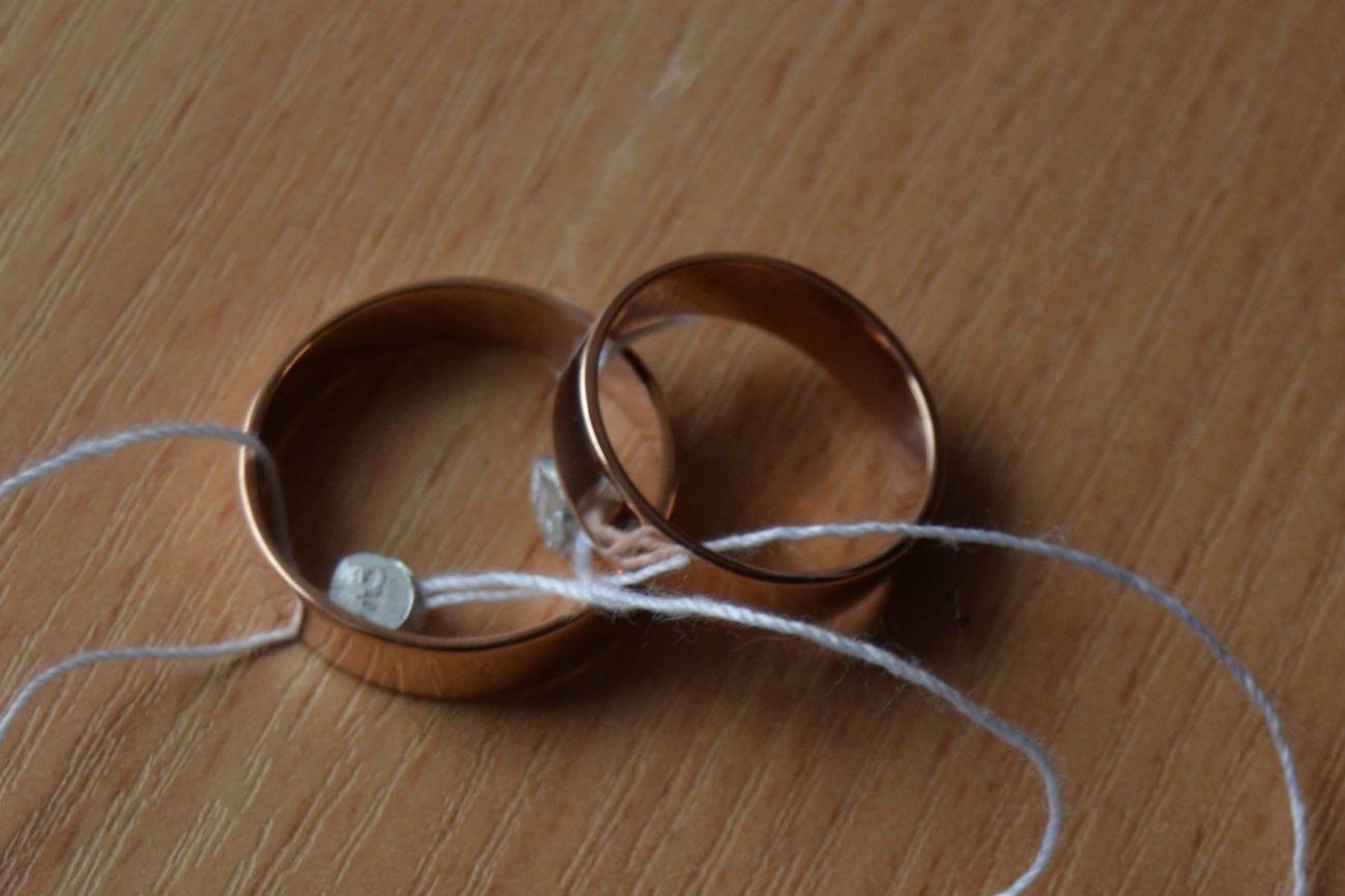 Фото - Обручальные кольца американка (5мм) Любые размеры!