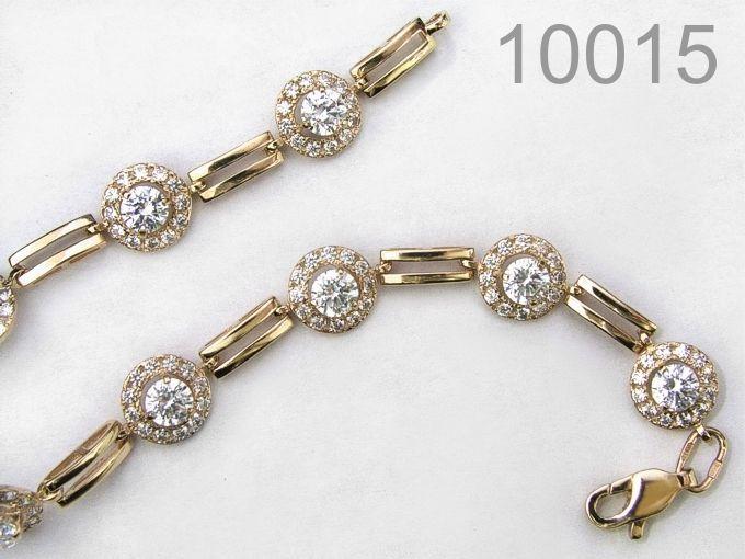 Золотой браслет - Лучший подарок! (10015)