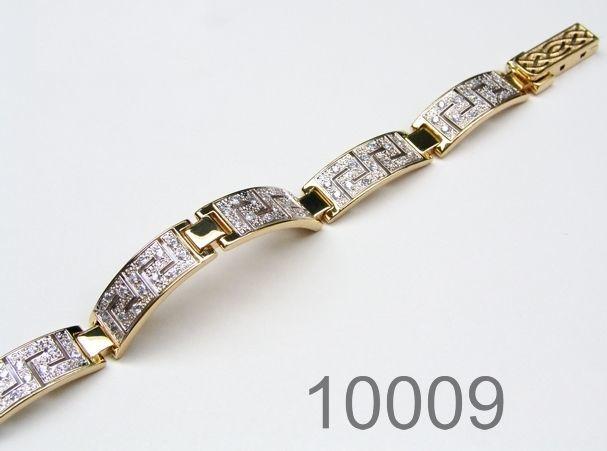 Браслет Золото - королевская дорога - 17,5 см (10009)