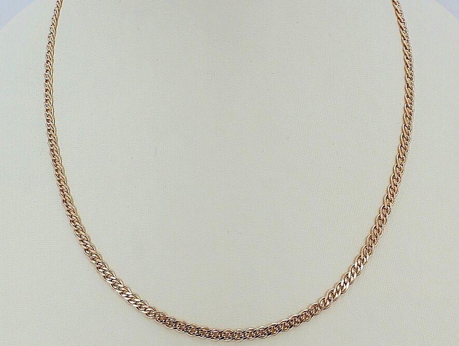 Фото 2 - Золотая цепочка мона лиза Любой длины!