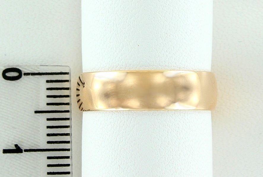 Фото - Обручальное кольцо золото 585 пробы (5 мм)