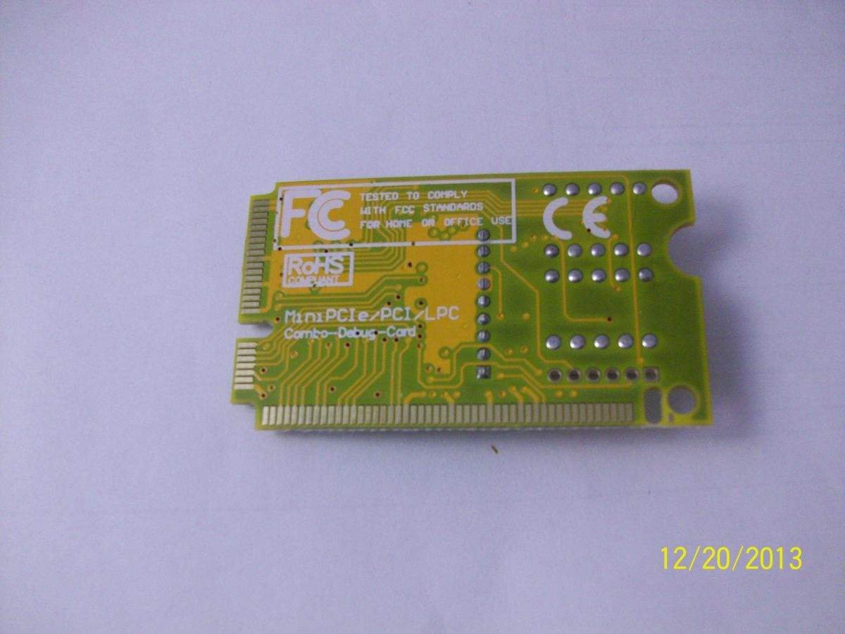 Фото 2 - Post card пост карта ноутбуков PCI PCIe LPC