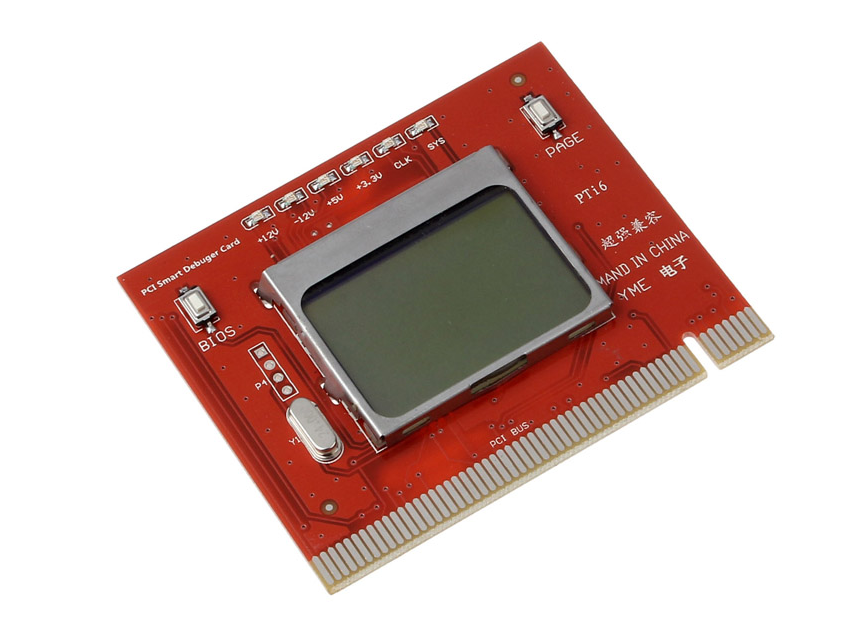 Фото - Пост карта post card диагностическая PC LCD экран