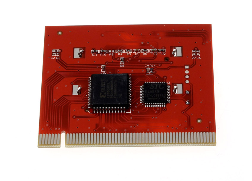Фото 2 - Пост карта post card диагностическая PC LCD экран