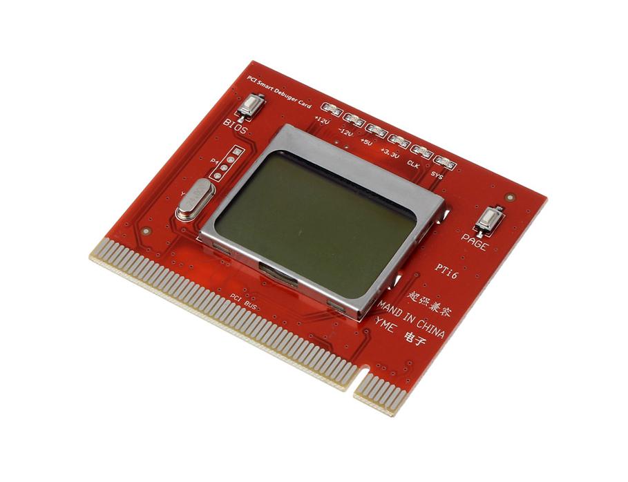 Фото 3 - Пост карта post card диагностическая PC LCD экран