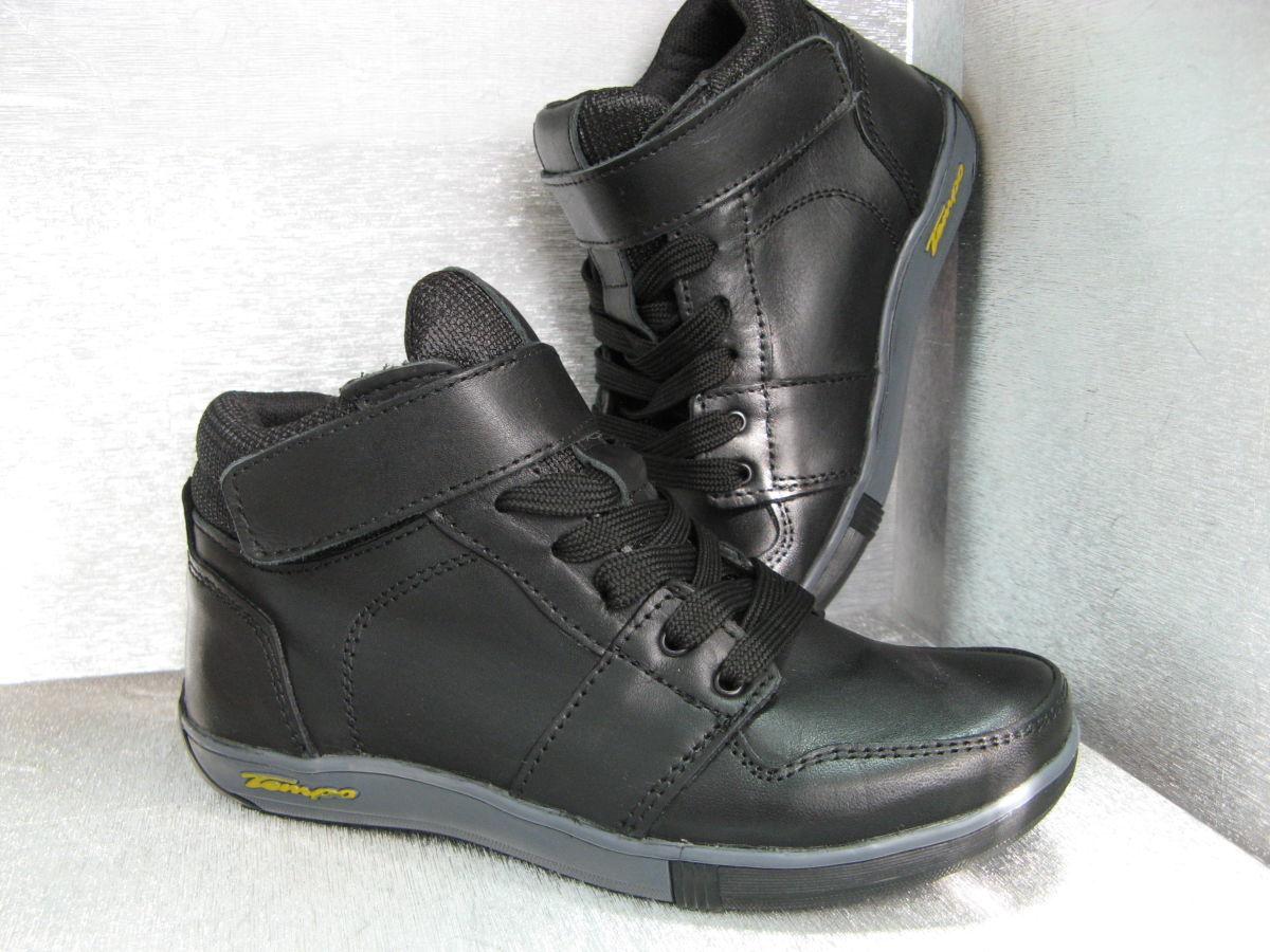 Фото 4 - Ботинки кожаные черные на мальчика 32р.34р.35р.