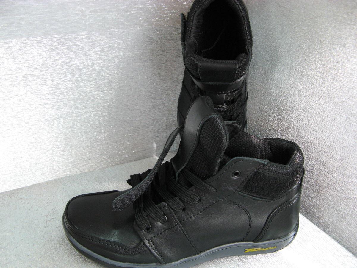 Фото 5 - Ботинки кожаные черные на мальчика 32р.34р.35р.