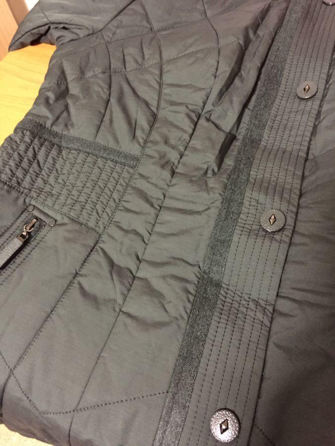 Фото 10 - пальто на синтепоне женское большие размеры