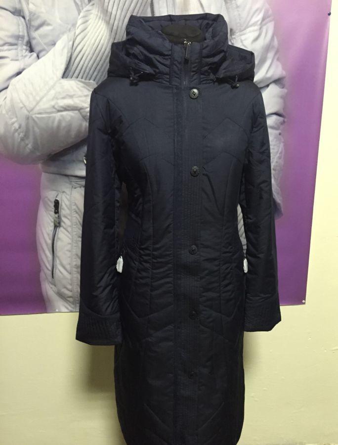 Фото 4 - пальто на синтепоне женское большие размеры